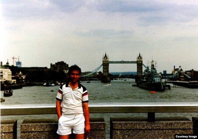 Михаил Осетинский в Лондоне