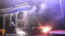 Мітингувальники відбили атаку «Беркута»