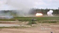 Rusiya ordusu havadan tanklar atır