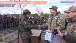 Інструктори з Грузії вчать вояків України
