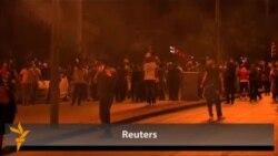 Polis Ankarada aksiyanı dağıdıb