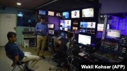 یکی از تلویزیونهای خصوصی افغانستان