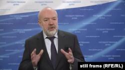 Павло Крашенніков – голова комітету Держдуми Росії з державного будівництва і законодавства, 22 вересня 2020 року