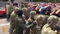 Luhansk: Ushtrime për konfrontim me vëzhguesit ndërkombëtarë
