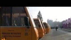 """Cu autobuze noi la o """"şcoală mai bună"""""""
