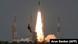 سفینه «چاندرایان ۲» روز دوشنبه از مرکز فضایی «ساتیش داوان» در جنوب هند به فضا پرتاب شد