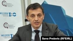 Predrag Bošković, ministar obrane CG