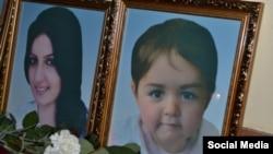 Фотографии двух жертв массового убийства в Гюмри