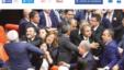Türkiyə parlamentində toqquşma