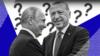 Владимир Путин и Реджеп Тайип Эрдоган. Коллаж