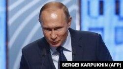 Президент Росії Володимир Путін. Москва, 18 липня 2018 року