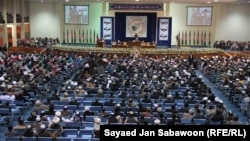 FILE: Participants of Loya Jirga or grand council to deliberate peace in Kabul in 2011.