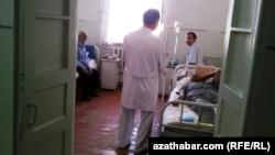 Онкологическая больница, Туркменистан (архивное фото)