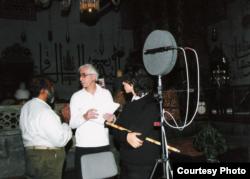 У працы над праектам Society for Understanding Mevlana у маўзалеі Румі, Конья, 2009