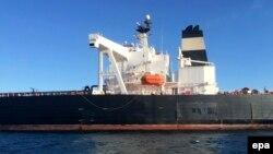 تانکر ثبتشده در پرتغال حامل نفت ایران در مونتهتولدو