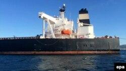 تصویری آرشیوی از یک نفتکش ایرانی