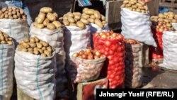Arxiv fotosu: Yazamalda Yaşıl bazar