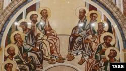 12 апостолов. Роспись Зала церковных соборов. Храм Христа Спасителя в Москве.