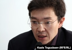 Гражданский активист Галым Агелеуов.