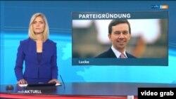 Anunțul creării Partidului Alfa (Foto: TV/mdr)