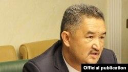 Алмазбек Баатырбеков.