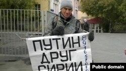 Aktivisti opozitar rus Vladimir Ionov