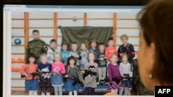 Патриотическое воспитание в России. Архивное фото
