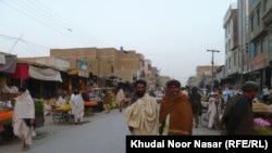 Pamje nga një treg në Baloçistan të Pakistanit