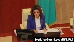 Парламент мәжілісінің депутаты, Қазақстан президенті Нұрсұлтан Назарбаевтың үлкен қызы Дариға Назарбаева.