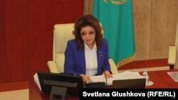 Дарига Назарбаева, депутат парламента Казахстана.