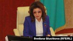 Қазақстан сенатының спикері Дариға Назарбаева.