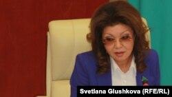 Қазақстан президентінің үлкен қызы Дариға Назарбаева. Астана, 18 ақпан 2015 жыл.
