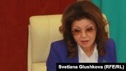 Жаңадан тағайындалған вице премьер-министр Дариға Назарбаева.