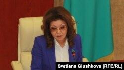 Дарига Назарбаева, заместитель премьер-министра, дочь президента Казахстана Нурсултана Назарбаева.