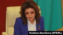 Премьер-министрдің орынбасары Дариға Назарбаева.