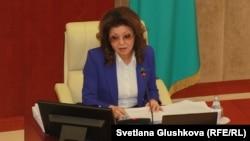 Спикер сената Дарига Назарбаева.