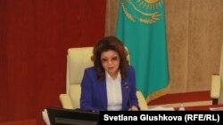 Дарига Назарбаева, заместитель премьер-министра Казахстана, дочь президента Казахстана Нурсултана Назарбаева