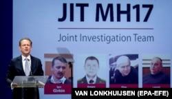 Пресс-конференция, посвященная текущему расследованию катастрофы MH17 в 2014 году, в Ньювегейне, 19 июня 2019 года