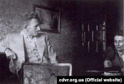 Роман Шухевич із сестрою Наталією, 1938 рік (фото ЦДВР)