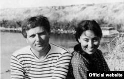 Julia Kristeva în 1968, cu scriitorul Philippe Sollers, soțul ei