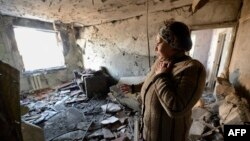 Наслідки обстрілу на Донбасі, ілюстраційне фото