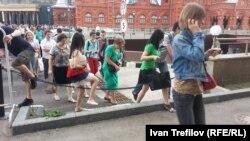 Сторонники Алексея Навального собираются в Москве