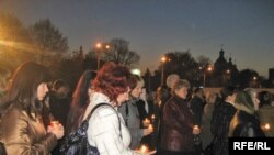 A candle-lit commemoration on November 16 of the victims of the 1932-33 famine