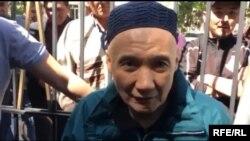 Мурат Суталинов после освобождения. 7 мая 2019 года.