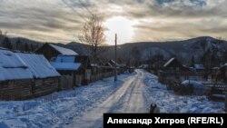 Снег в Приморье, архивное фото