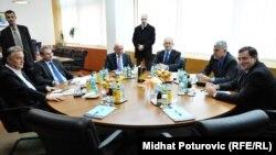 Bh. političari Zlatko Lagumdžija, Mladen Bosić, Sulejman Tihić, Božo Ljubić, Dragan Čović i Milorad Dodik