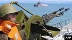 Gürcüstan ordusunda zenit pulemyotu