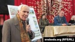 Вацлаў Нямковіч, старшыня ГА «Хрысьціянская злучнасьць Курапаты»