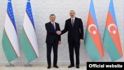 Президент Шавкат Мирзиёев 14 октябрда Бокуда Озарбайжон президенти Илҳом Алиев билан учрашди.