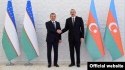 14 октября президент Узбекистана Шавкат Мирзияев встретился в Баку с президентом Азербайджана Ильхамом Алиевым.